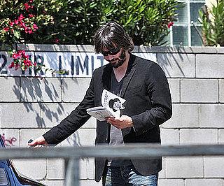 Photo of Keanu Reeves Reading in LA