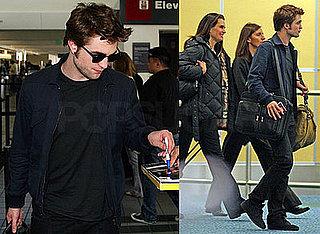 Pattinson Takes Off
