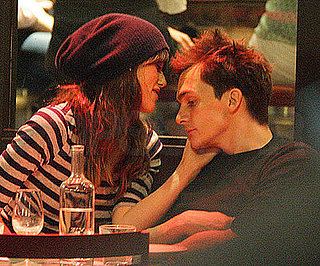 Photo of Keira Knightley Kissing Her Boyfriend Rupert Friend in London at Barrafina