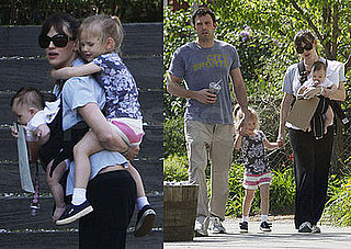 Photos of Seraphina Affleck with her Parents Jennifer and Ben, and Sister Violet