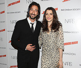 Photo of Adrien Brody and Rachel Weisz at an NYC Screening of The Brothers Bloom