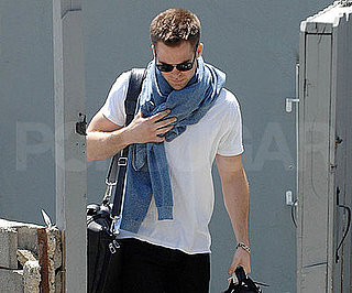 Photo of Star Trek's Chris Pine at LAX