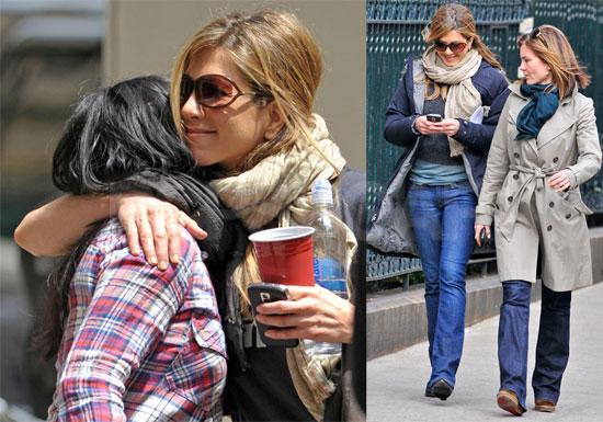 Photos of Jennifer Aniston, Rumored to Flirt with Bradley Cooper