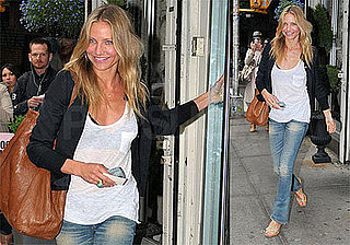 Photos of Cameron Diaz in NYC, Back From Hawaii, Starring in Wichita With Tom Cruise