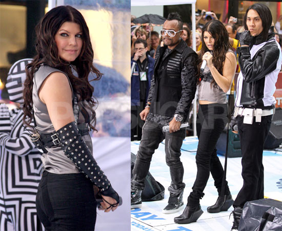 Photos of Fergie and The Black Eyed Peas Performing on the Today Show