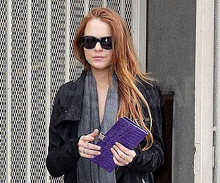 Slide Photo of Lindsay Lohan Running Errands in LA