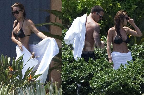 Photos of Audrina Patridge and Boyfriend Corey Bohan Vacationing Shirtless and in a Bikini