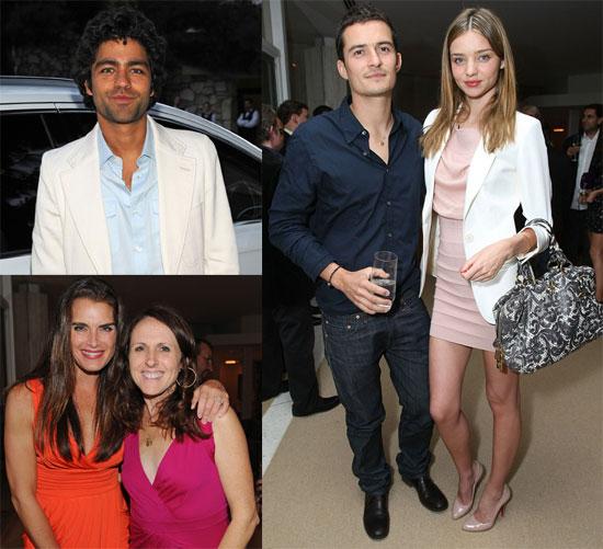 Photos of Orlando Bloom, Miranda Kerr, Adrian Grenier, Brooke Shields, Molly Shannon at Audi TDI Clean Disel Party