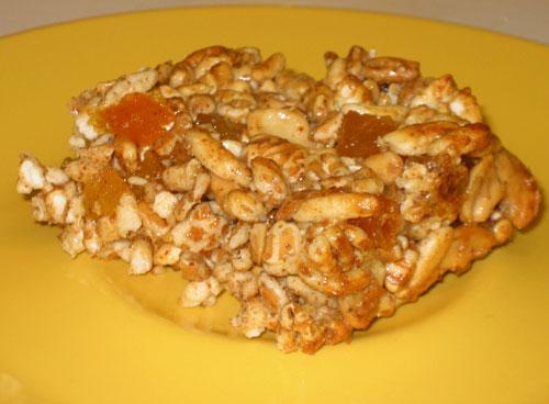 Easy Whole Grain, Fruit, and Nut Energy Bars