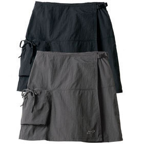 Fashionable and Practical: Biking Cargo Skort by Terry