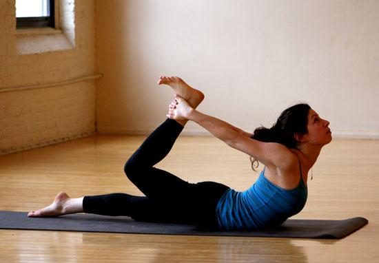 Strike a Yoga Pose: One-Legged Bow