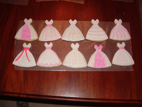Wedding Gown Cookies