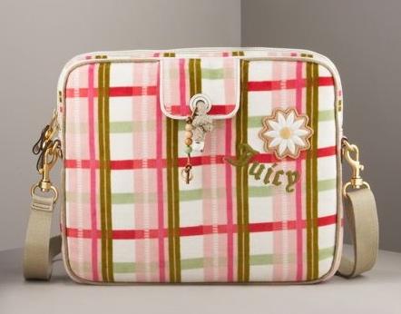 Plaid Laptop Bag