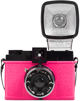 Pink Diana F+ Lomography Lomo Camera from Fred Flare