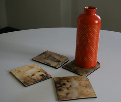 How to Turn Old Mouse Pads Into Coasters