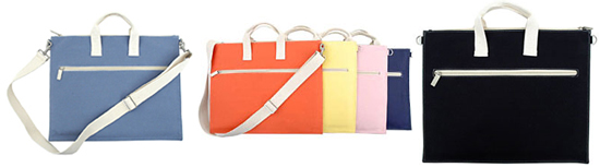 Basic Canvas Laptop Bags By Twelve NYC