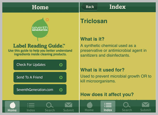 Seventh Generation's Label Guide App Explains Chemicals In Cleaning Products