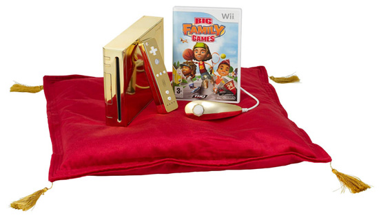 Daily Tech: The Queen to Receive a Gold-Plated Nintendo Wii