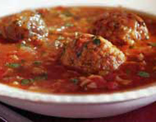 Monday's Leftovers: Mexican Meatball Soup With Rice