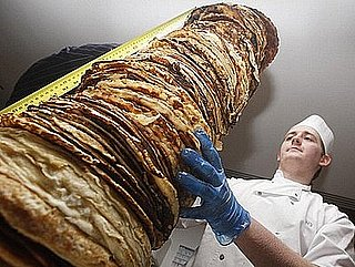 Scotland Sets Record For World's Tallest Pancake Stack