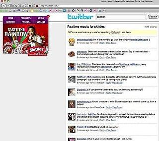 Skittles Ups Internet Presence With Interactive Interweb
