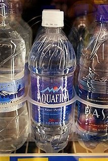 Bottled Water Sales Have Fallen