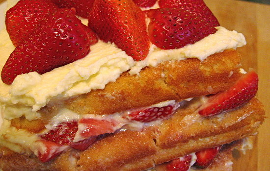 Easy Recipe For Strawberry Chiffon Layer Cake