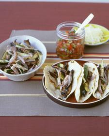 Fast & Easy Recipe For Portobello And Zucchini Tacos