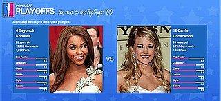 PopSugar 100 Round 3 Spotlight: Beyonce vs. Carrie