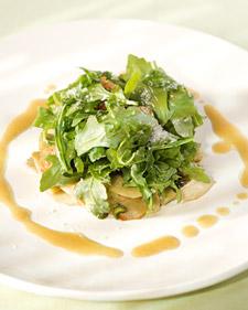 Arugula and Baby Artichoke Salad