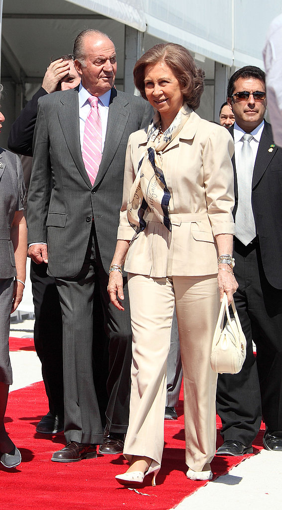 The King and Queen of Spain