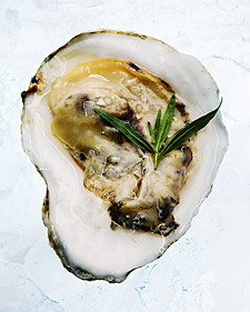 Oysters With Mignonette