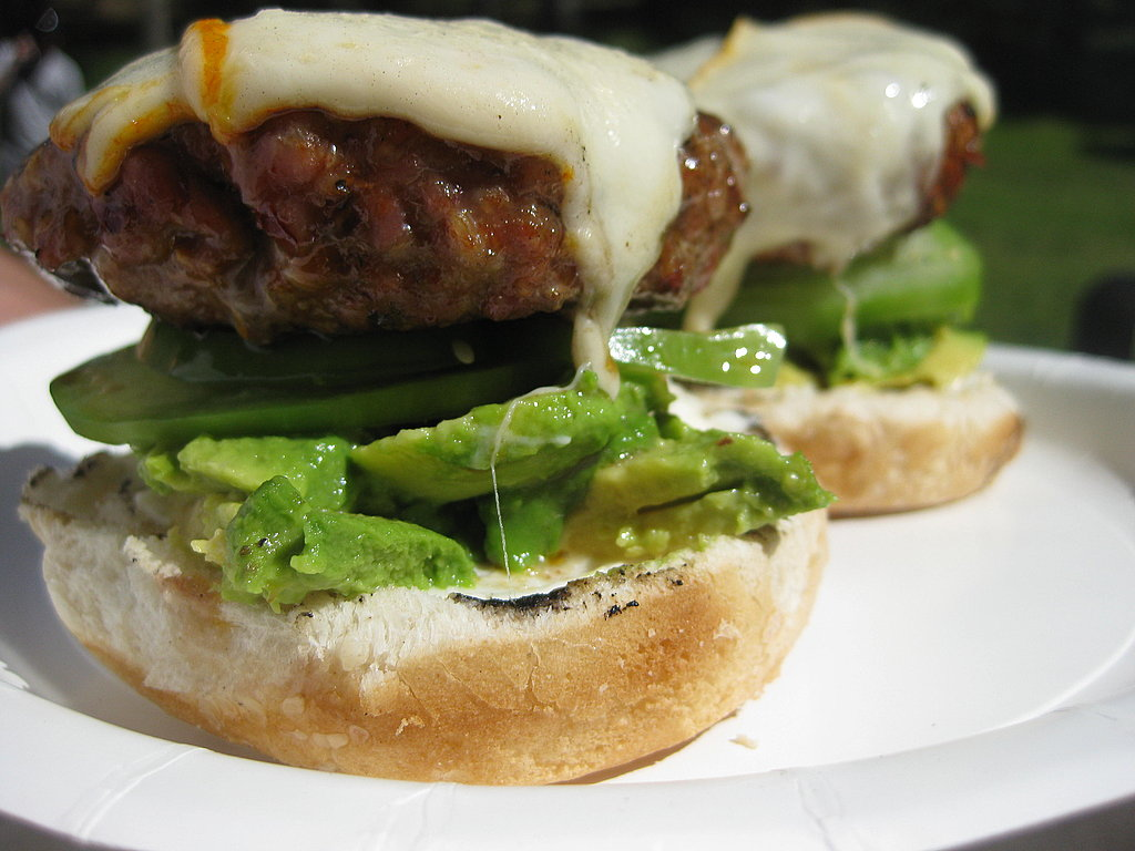 Pork Chipotle Muenster Burgers