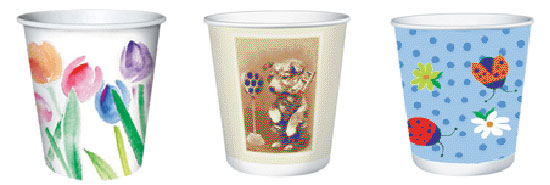 Use Dixie Cups For Portion Control