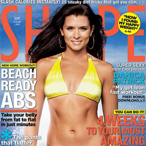 Danica Patrick Is a Strong and Lean Driving Machine