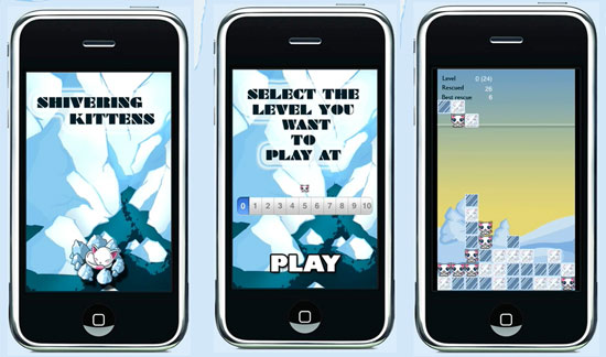 Save Shivering Kittens on Your iPhone and Actual Kittens at the ASPCA at the Same Time!