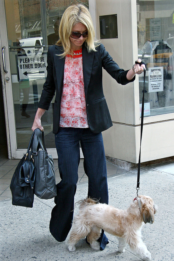Kelly Ripa and Chewie Say Goodbye to Today