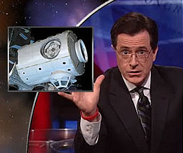 Should NASA Name Space Station Room After Colbert?