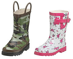 Rainboots Made For Splashing in Puddles