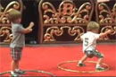 Jayden and Sean Preston Dancing Along With Cruz Beckham