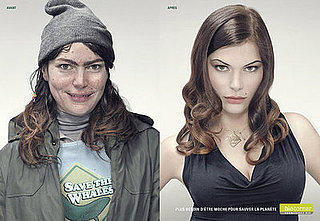 Belgian Ad For a Natural Cosmetics Company