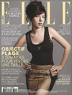 Scarlett Johansson Without Makeup in ELLE