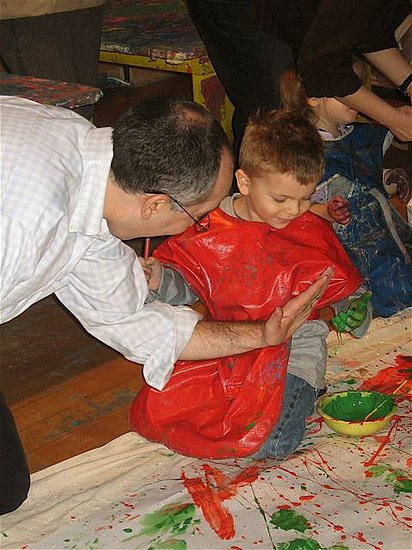 Jackson Pollock-Inspired Birthday Party For Kids
