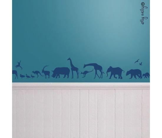 Safari Wall Graphic