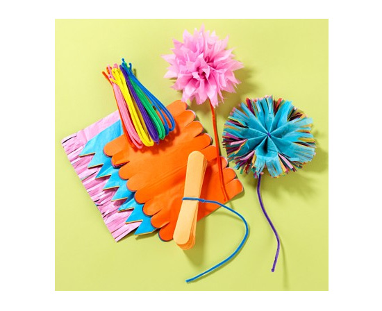 Create Tissue Paper Flowers