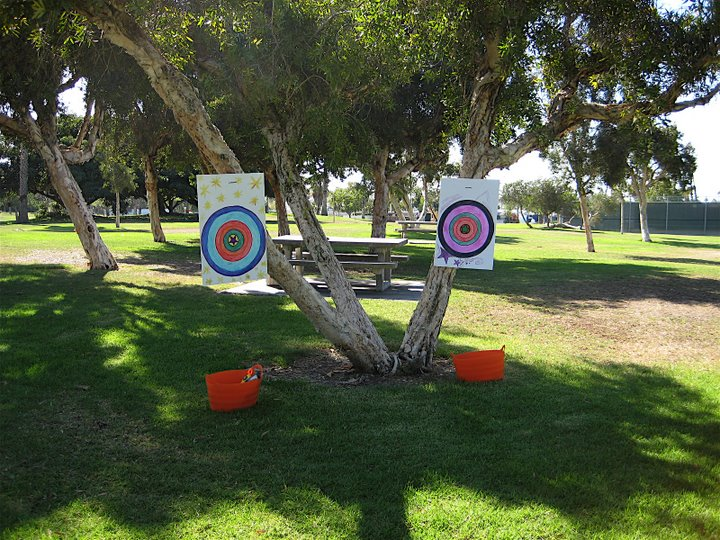 Create a Target Practice Station