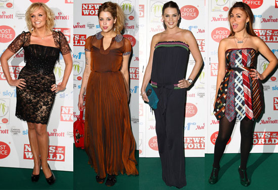 Photos of Emma Bunton, Peaches Geldof, Danielle Lloyd and Gabrielle Cilmi at Children's Champion Awards 2009
