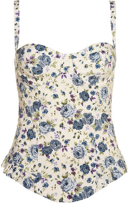 Floral Corsets for Summer 2009