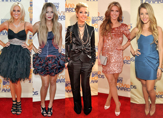 Photos of The Hills at MTV Movie Awards Red Carpet