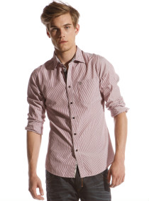 Lychy - Bengal stripe shirt - Ted Baker